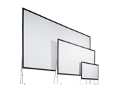 Mobile projection screens